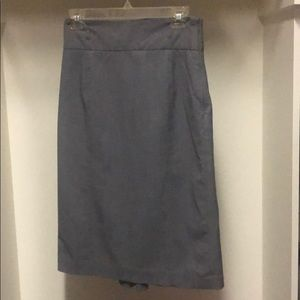 Worthington grey pencil skirt size 4